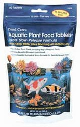 Pond Care: Aquatic Plant Food Tablets (25-tabs)