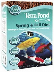 Tetra Pond: Koi Spring and Fall Wheatgerm Diet (1-liter can)